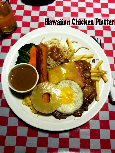 Hawaiian Chicken Platter 夏威夷全鸡扒
